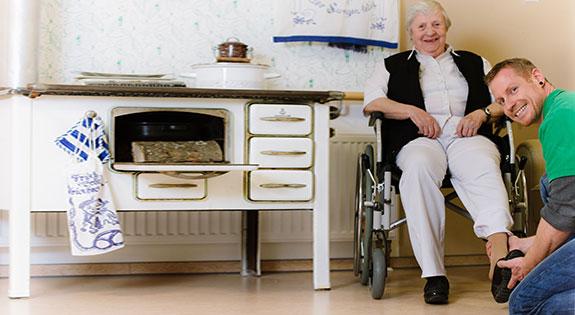 Zu Hause Wohnen wohnen im alter pflegedienst wehner